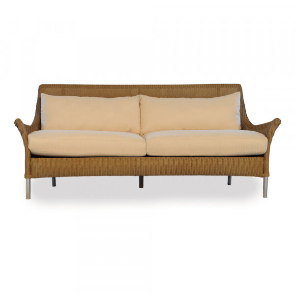Lloyd Flanders Fusion Wicker Sofa with Square Back - Replacement Cushion