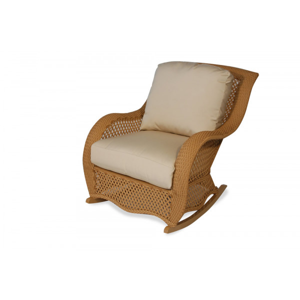 Lloyd Flanders Tropics Wicker Rocking Chair - Replacement Cushion