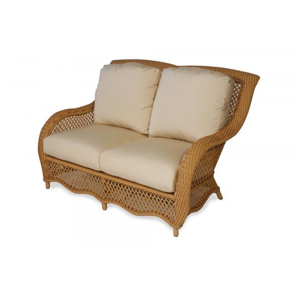 Lloyd Flanders Tropics Wicker Loveseat - Replacement Cushion