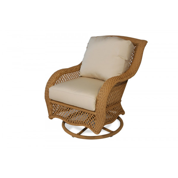 Lloyd Flanders Tropics Wicker Swivel Rocker - Replacement Cushion