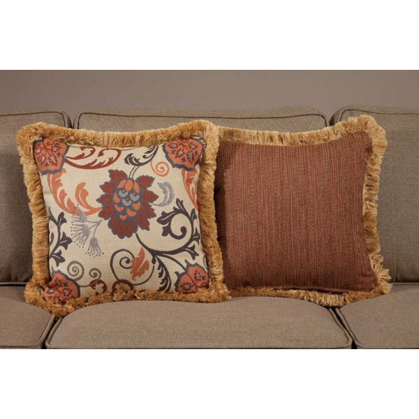 South Sea Rattan All Weather Dimone Medium Throw Pillow