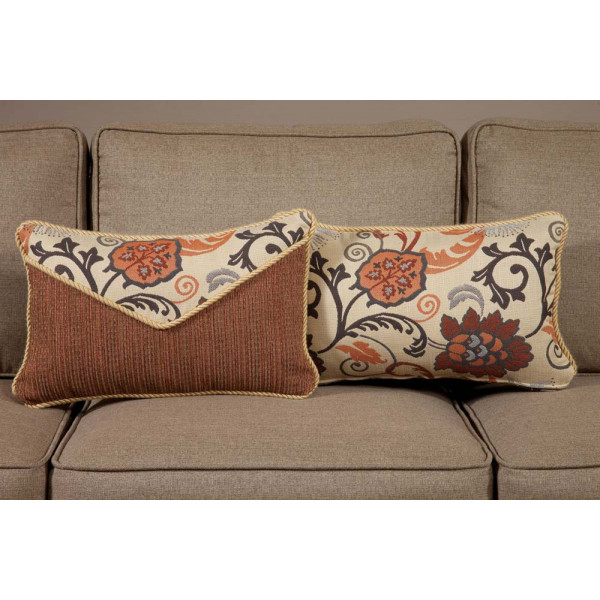 South Sea Rattan All Weather Dimone Small Throw Pillow
