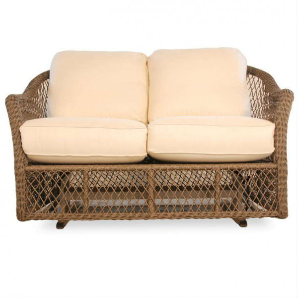 Lloyd Flanders Vineyard Wicker Loveseat Glider - Replacement Cushion
