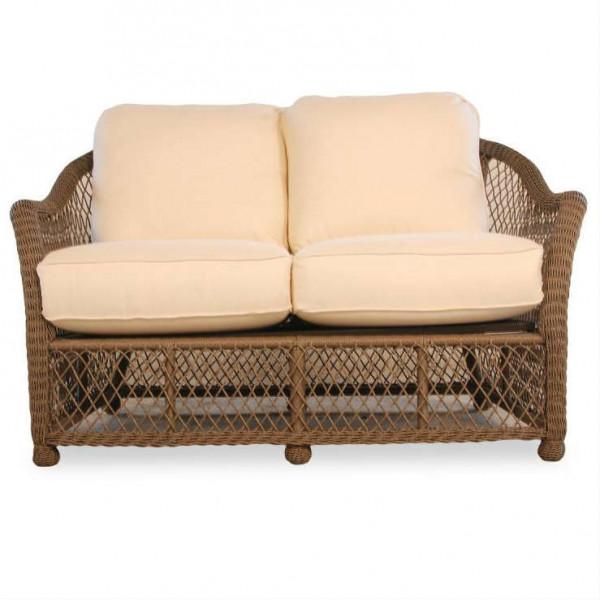 Lloyd Flanders Vineyard Wicker Loveseat - Replacement Cushion