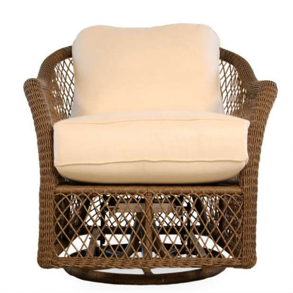 Lloyd Flanders Vineyard Wicker Swivel Glider - Replacement Cushion