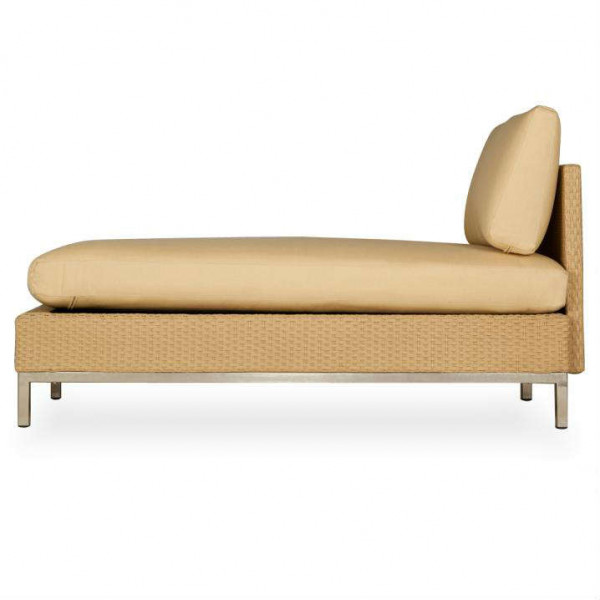 Lloyd Flanders Elements Armless Wicker Chaise Lounge - Replacement Cushion