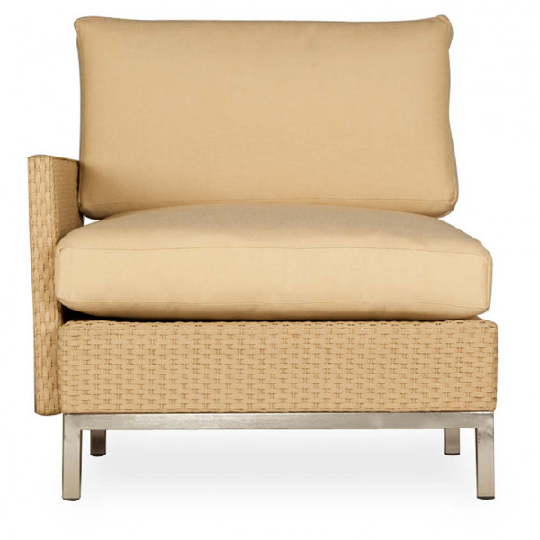 Lloyd Flanders Elements Left Arm Facing Wicker Lounge Chair - Replacement Cushion