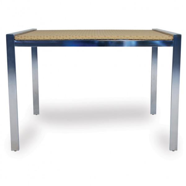 "Lloyd Flanders Elements 42"" Wicker Dining Table"