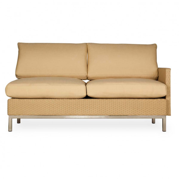 Lloyd Flanders Elements Left Arm Facing Wicker Loveseat - Replacement Cushion