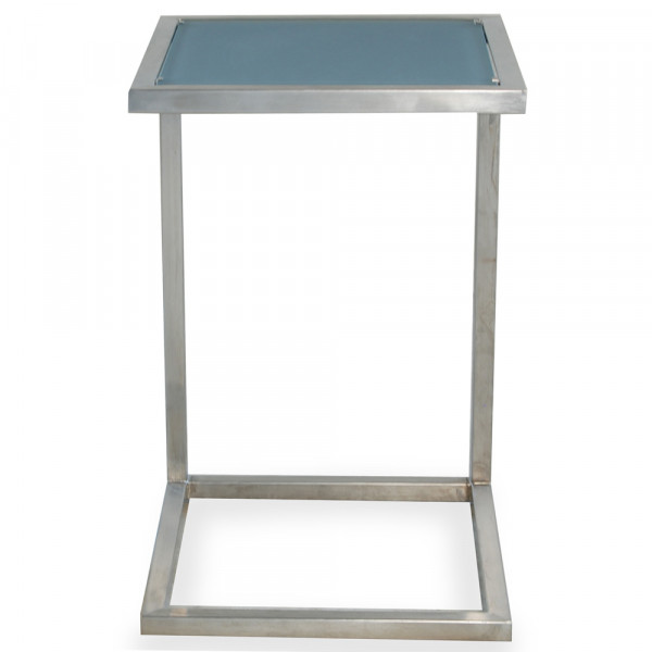 Lloyd Flanders Elements Small Steel End Table