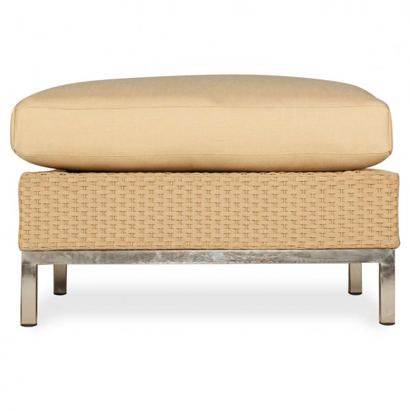 Lloyd Flanders Elements Wicker Ottoman - Replacement Cushion