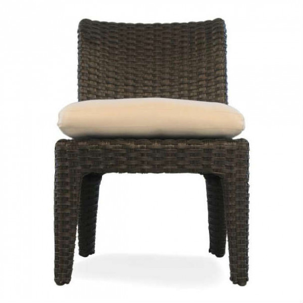 Lloyd Flanders Flair Armless Wicker Dining Chair
