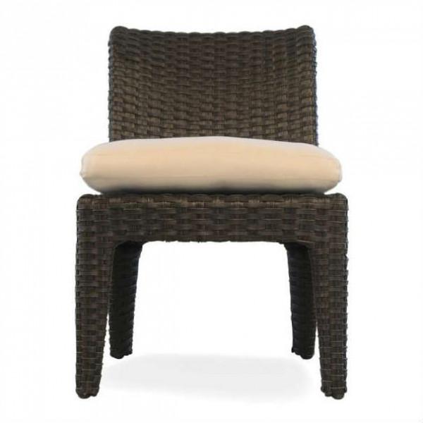 Lloyd Flanders Flair Wicker Armless Dining Chair