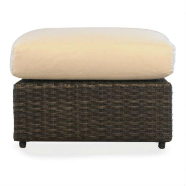 Lloyd Flanders Flair Large Wicker Ottoman - Replacement Cushion