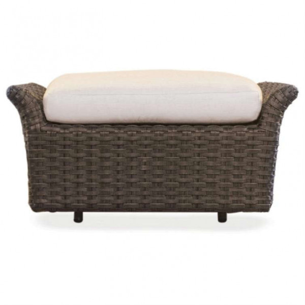 Lloyd Flanders Flair Glider Wicker Ottoman - Replacement Cushion