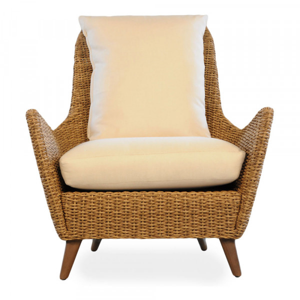 Lloyd Flanders Tobago Highback Wicker Lounge Chair - Replacement Cushion