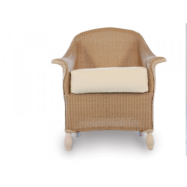 Lloyd Flanders Embassy Wicker Dining Chair - Replacement Cushion