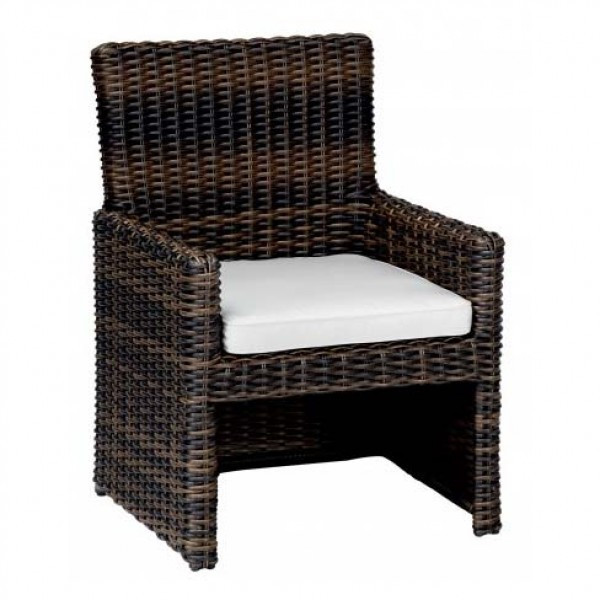 Sunset West Montecito Wicker Dining Chair - Replacement Cushion