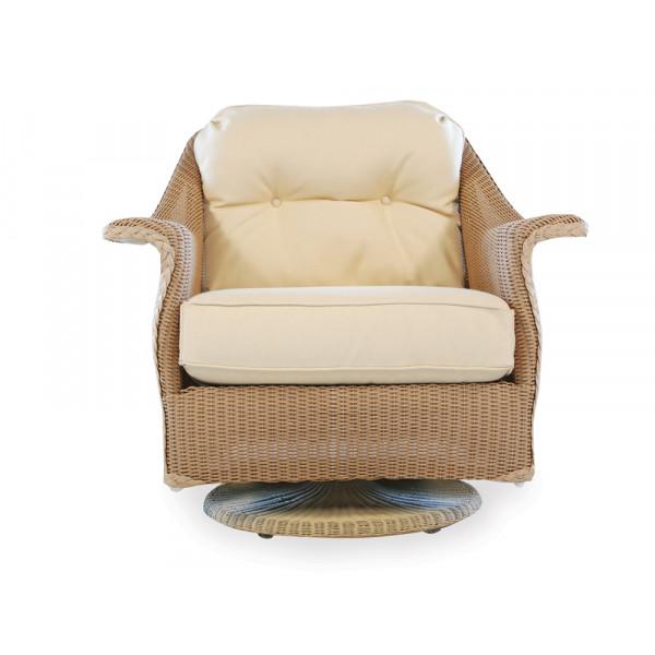 Lloyd Flanders Embassy Wicker Swivel Rocker - Replacement Cushion