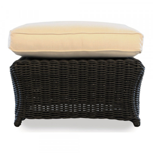 Lloyd Flanders Cottage Wicker Ottoman - Replacement Cushion