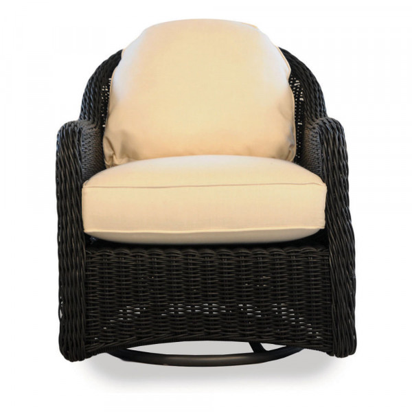 Lloyd Flanders Cottage Wicker Swivel Rocker - Replacement Cushion
