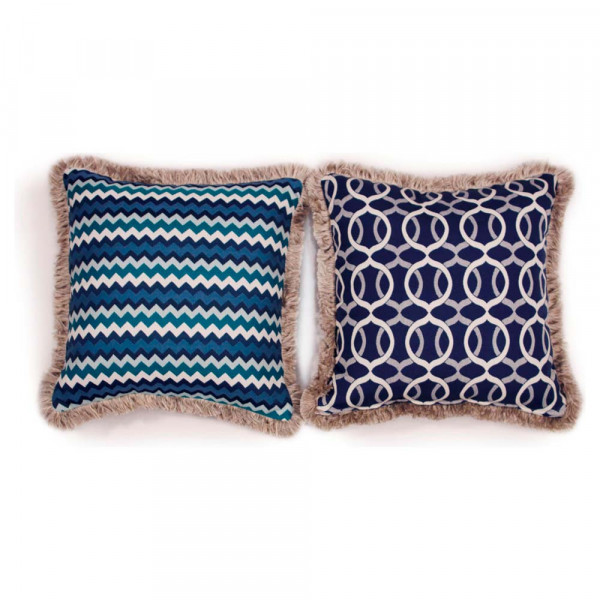 South Sea Rattan All Weather Bondi Large Throw Pillow
