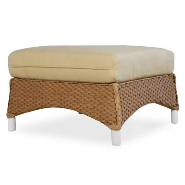 Lloyd Flanders Mandalay Wicker Ottoman - Replacement Cushion
