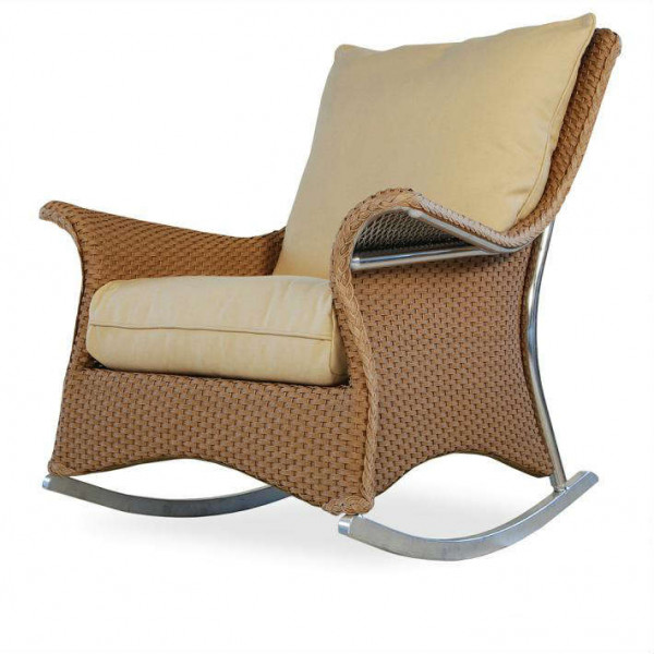 Lloyd Flanders Mandalay Wicker Rocking Chair