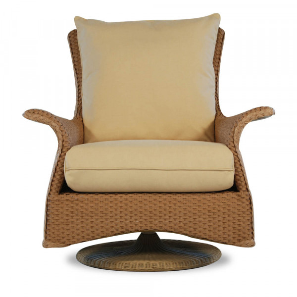 Lloyd Flanders Mandalay Wicker Swivel Rocker