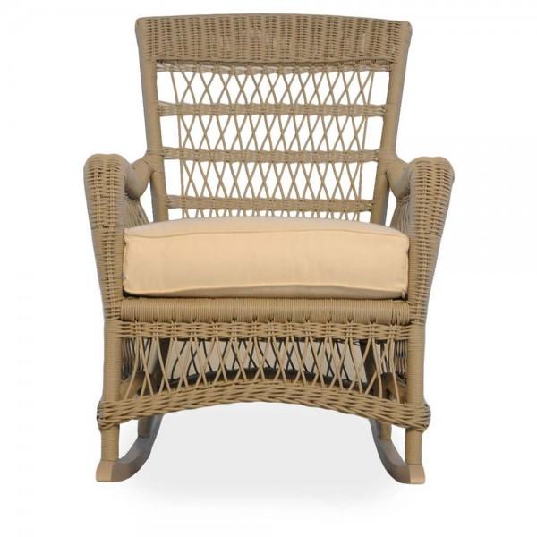 Lloyd Flanders Fairhope Wicker Porch Rocker - Replacement Cushion