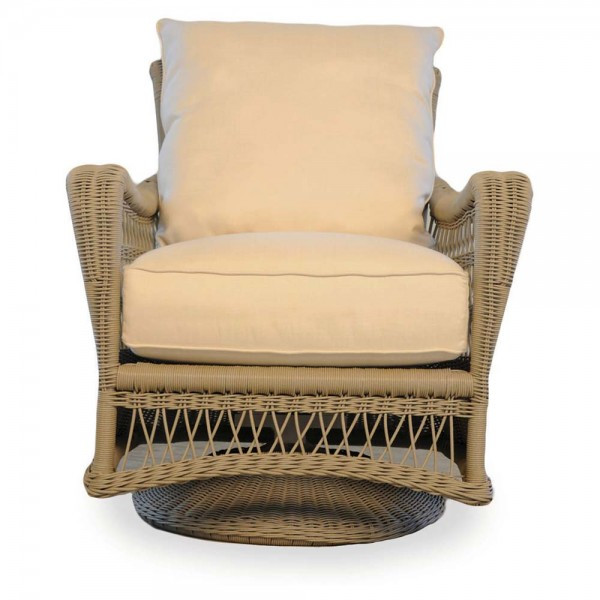 Lloyd Flanders Fairhope Wicker Swivel Chair - Replacement Cushion