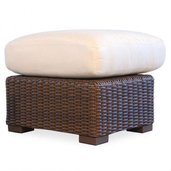 Lloyd Flanders Mesa Wicker Ottoman - Replacement Cushion