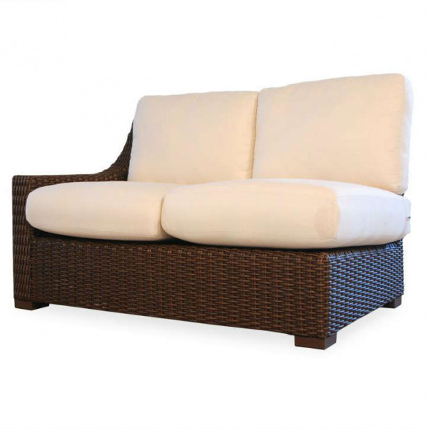 Lloyd Flanders Mesa Left Arm Facing Wicker Loveseat - Replacement Cushion