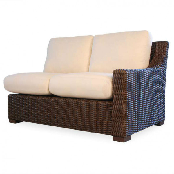 Lloyd Flanders Mesa Right Arm Facing Wicker Loveseat