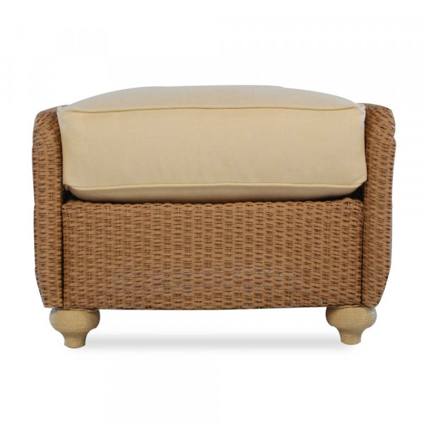 Lloyd Flanders Oxford Wicker Ottoman - Replacement Cushion