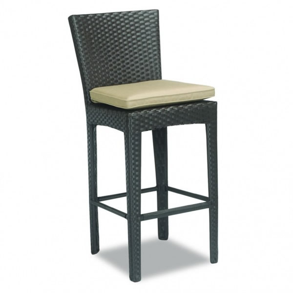 Sunset West Malibu Wicker Bar Stool  - Replacement Cushion