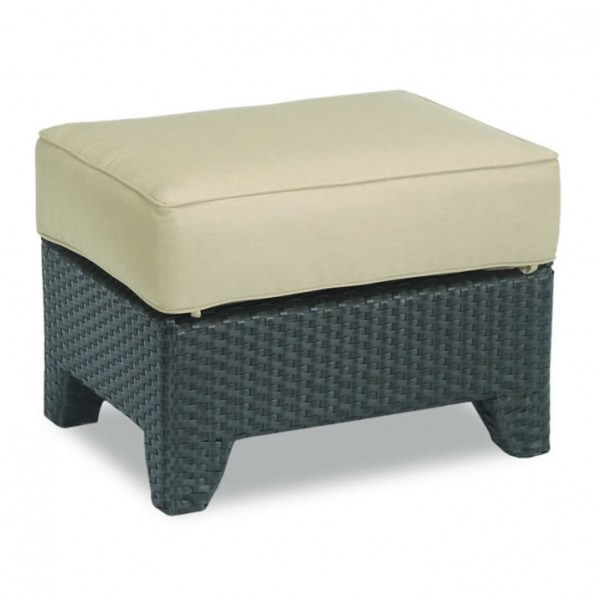 Sunset West Malibu Wicker Ottoman - Replacement Cushion