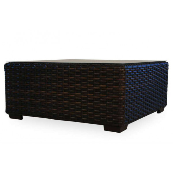 Lloyd Flanders Contempo Square Wicker Cocktail Table