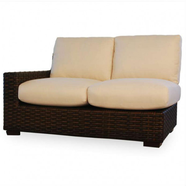 Lloyd Flanders Contempo Left Arm Facing Wicker Loveseat - Replacement Cushion