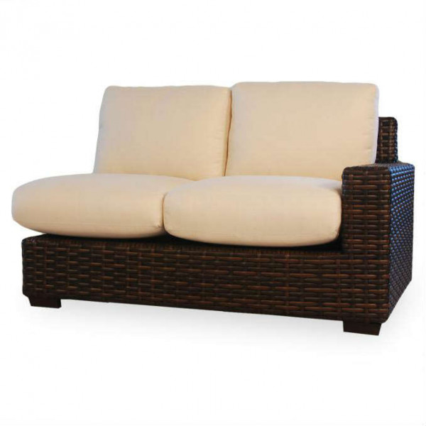 Lloyd Flanders Contempo Right Arm Facing Wicker Loveseat