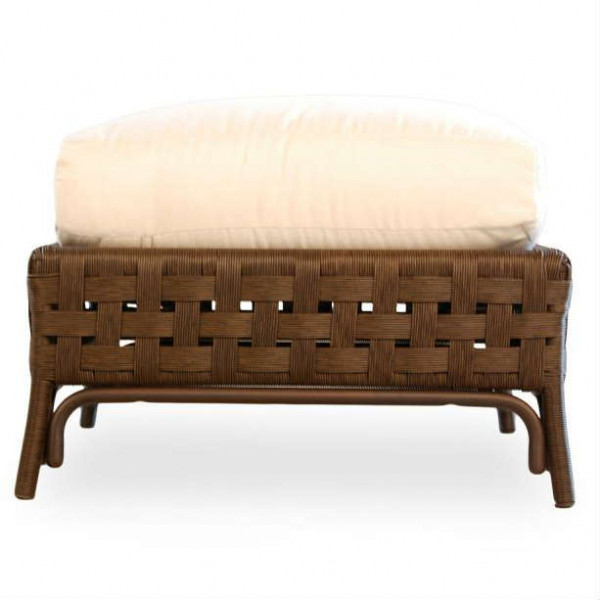 Lloyd Flanders Haven Wicker Ottoman - Replacement Cushion