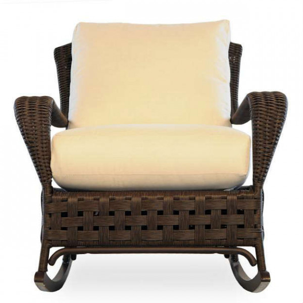 Lloyd Flanders Haven Wicker Rocking Chair