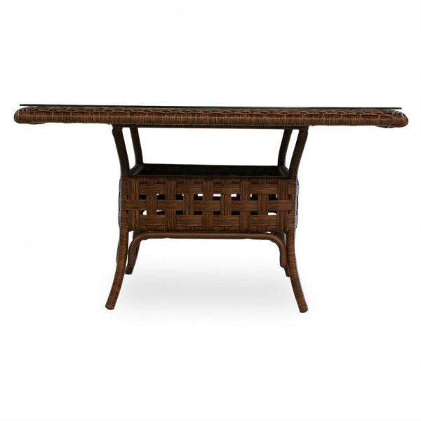 "Lloyd Flanders Haven 42"" Wicker Chat Table"