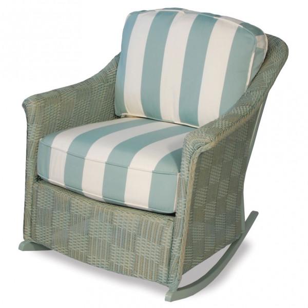 Lloyd Flanders Calypso Wicker Lounge Rocker - Replacement Cushion