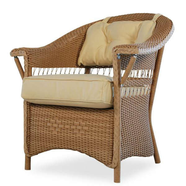 Lloyd Flanders Nantucket Wicker Dining Chair