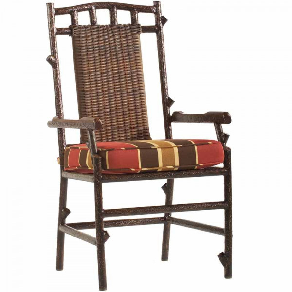 WhiteCraft by Woodard Chatham Run Wicker Dining Chair  - Replacement Cushion