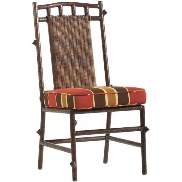 WhiteCraft by Woodard Chatham Run Armless Wicker Dining Chair  - Replacement Cushion