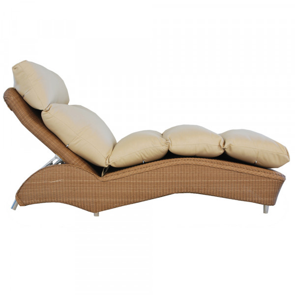 Lloyd Flanders Wicker Adjustable Single Chaise - Replacement Cushion