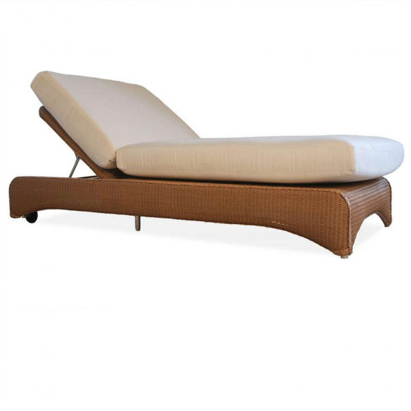 Lloyd Flanders Double Wicker Chaise Lounge