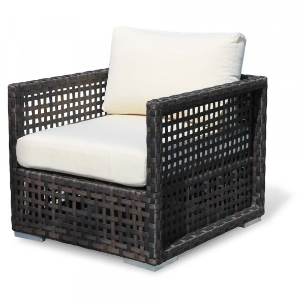 Source Outdoor Matterhorn Wicker Lounge Chair